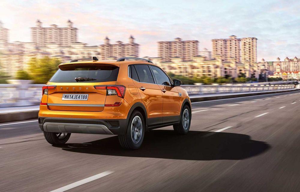 Skoda lansează noul Kushaq: SUV disponibil exclusiv pe piața din India - Poza 8
