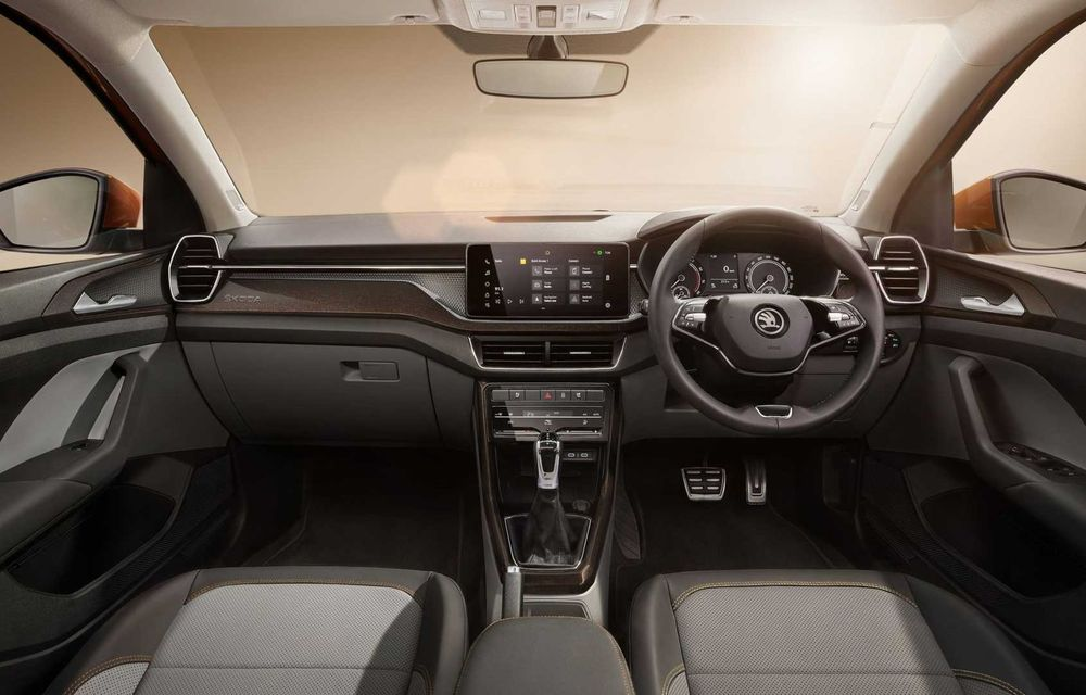 Skoda lansează noul Kushaq: SUV disponibil exclusiv pe piața din India - Poza 13
