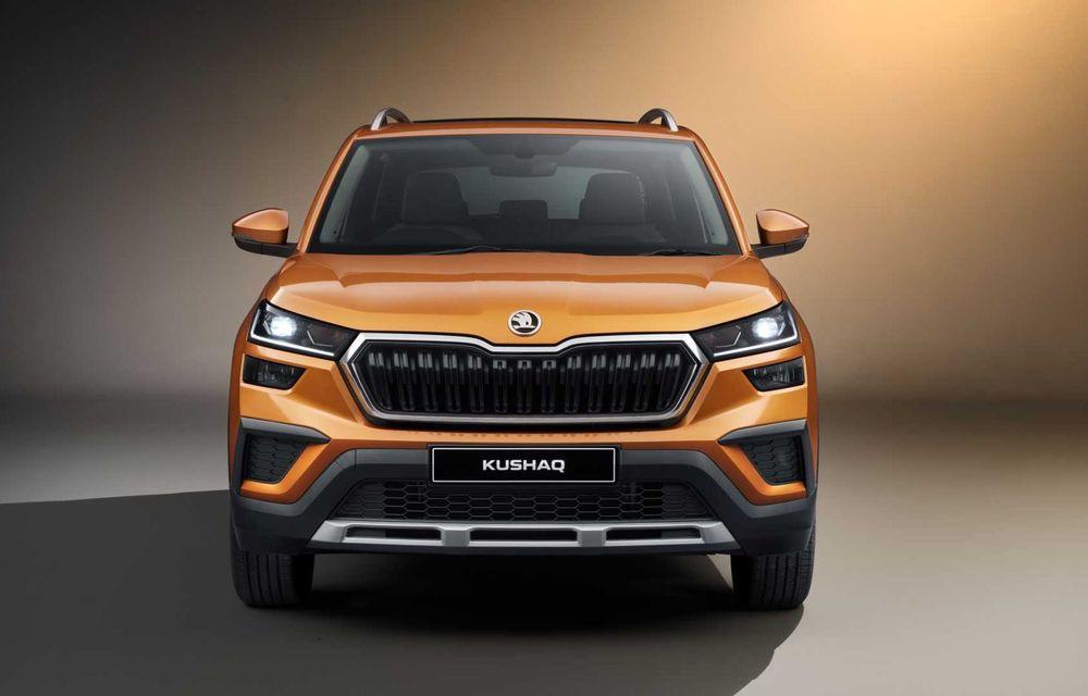Skoda lansează noul Kushaq: SUV disponibil exclusiv pe piața din India - Poza 3