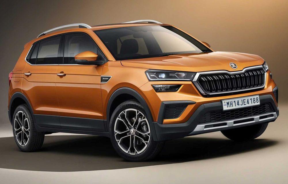 Skoda lansează noul Kushaq: SUV disponibil exclusiv pe piața din India - Poza 1