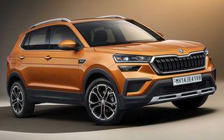 Skoda lansează noul Kushaq: SUV disponibil exclusiv pe piața din India