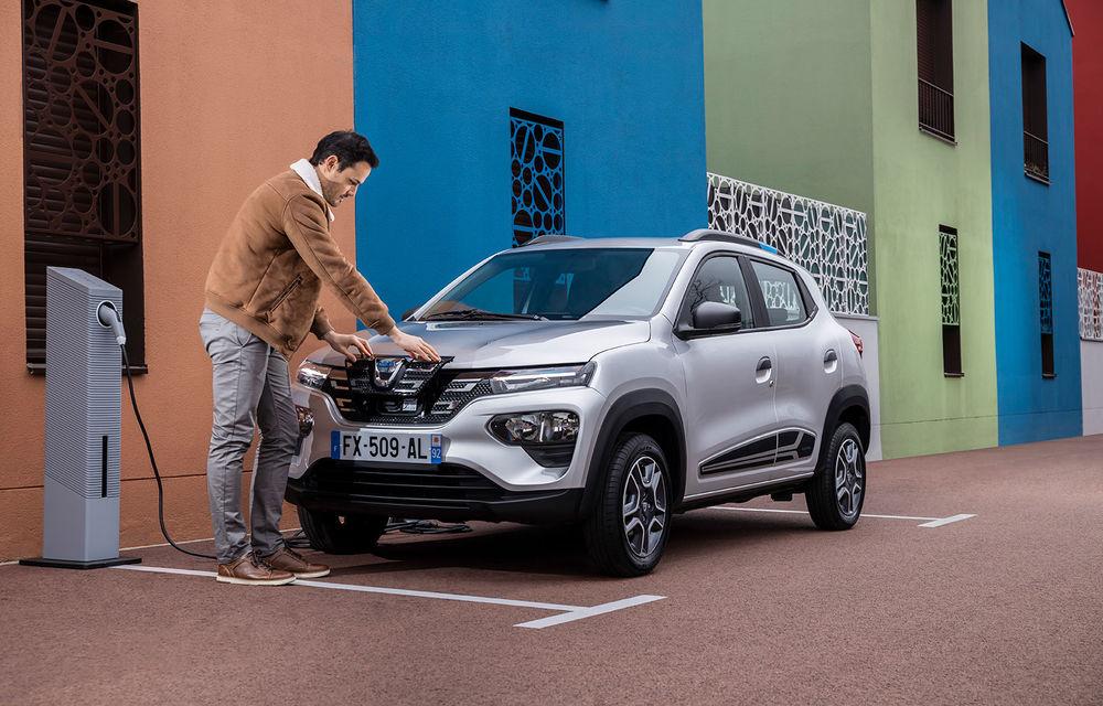 UPDATE: Dacia Spring a înregistrat 4000 de comenzi în doar 48 de ore, în România - Poza 1