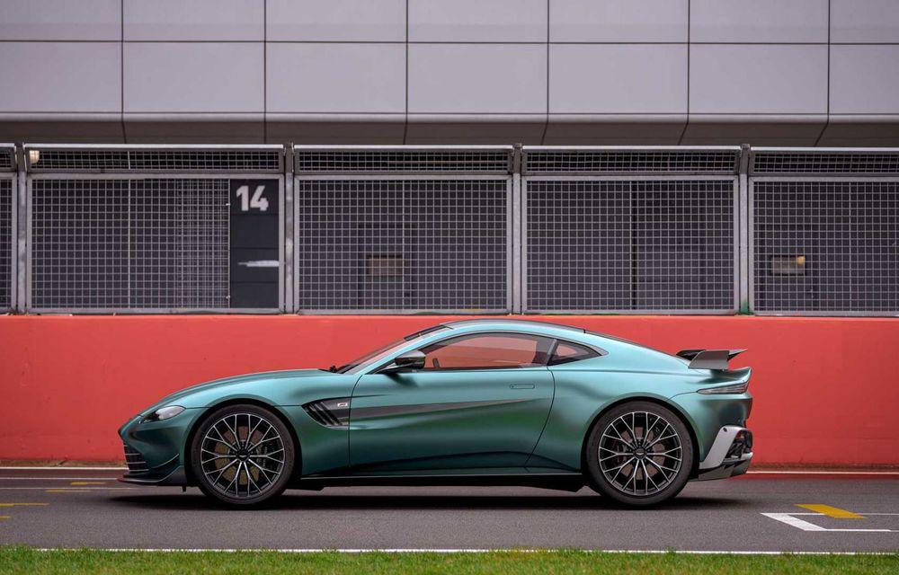 Aston Martin prezintă noul Vantage F1 Edition: ediție inspirată de Safety Car-ul din Formula 1 - Poza 6