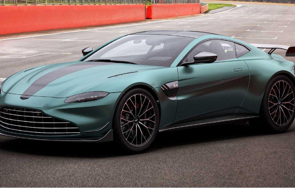 Aston Martin prezintă noul Vantage F1 Edition: ediție inspirată de Safety Car-ul din Formula 1 - Poza 2