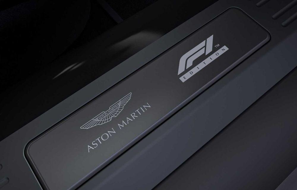 Aston Martin prezintă noul Vantage F1 Edition: ediție inspirată de Safety Car-ul din Formula 1 - Poza 11