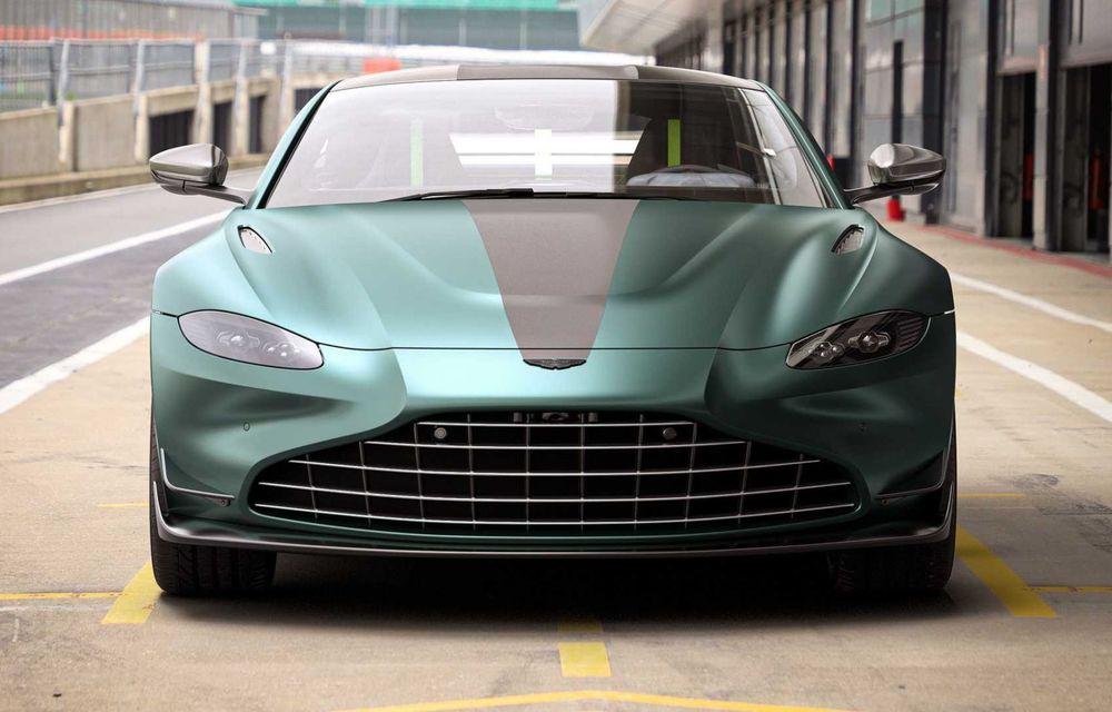 Aston Martin prezintă noul Vantage F1 Edition: ediție inspirată de Safety Car-ul din Formula 1 - Poza 3