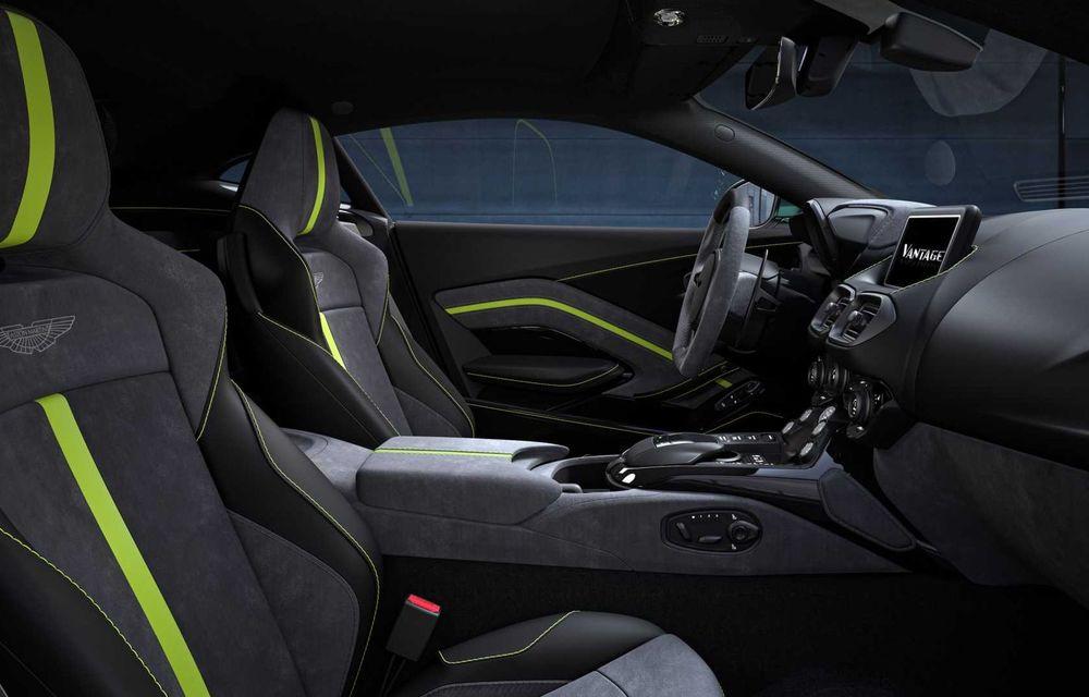 Aston Martin prezintă noul Vantage F1 Edition: ediție inspirată de Safety Car-ul din Formula 1 - Poza 9