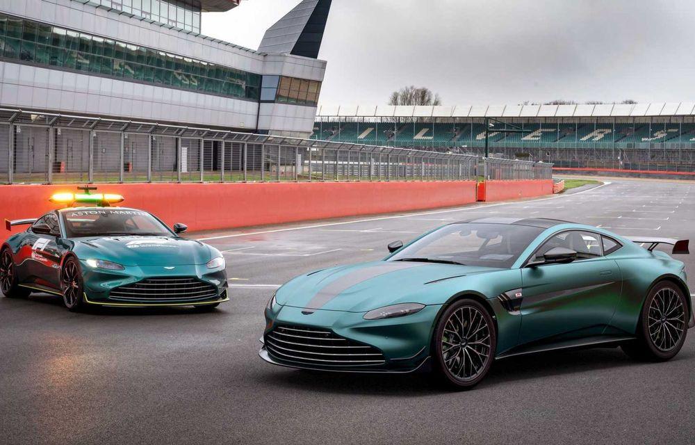 Aston Martin prezintă noul Vantage F1 Edition: ediție inspirată de Safety Car-ul din Formula 1 - Poza 1