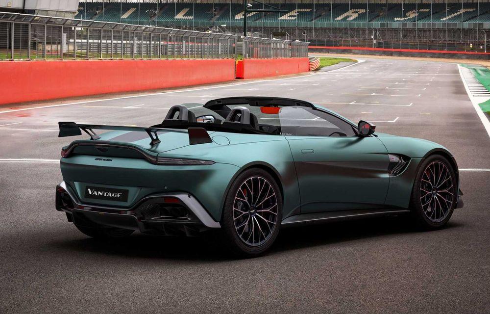 Aston Martin prezintă noul Vantage F1 Edition: ediție inspirată de Safety Car-ul din Formula 1 - Poza 8