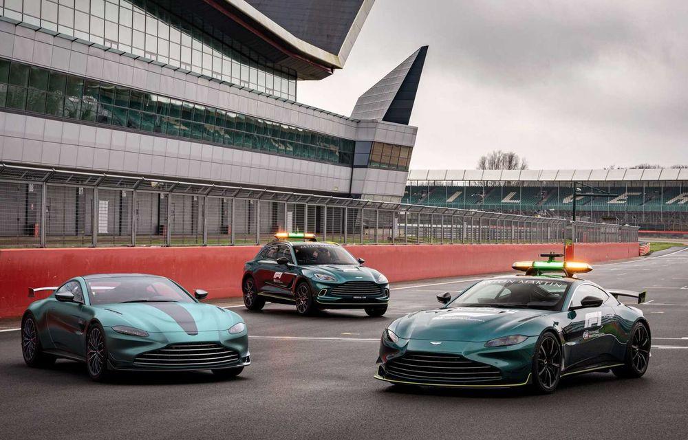 Aston Martin prezintă noul Vantage F1 Edition: ediție inspirată de Safety Car-ul din Formula 1 - Poza 4