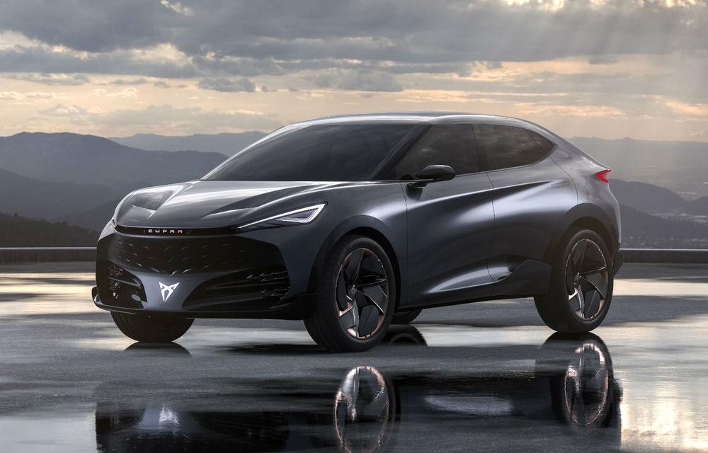 SUV-ul electric Cupra Tavascan va intra în producție în 2024 - Poza 1