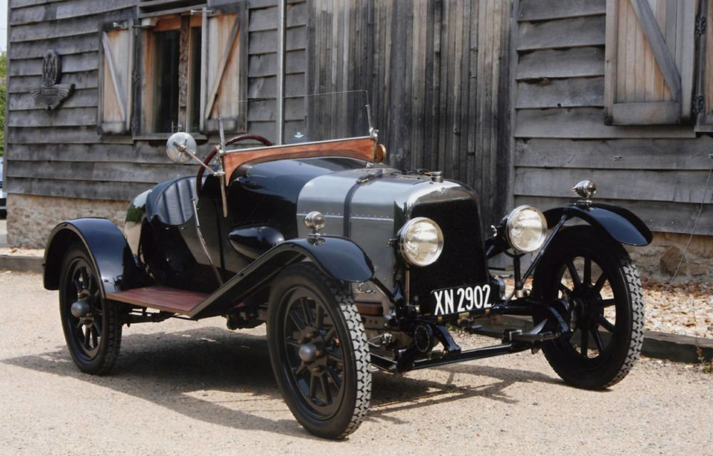 Cel mai vechi Aston Martin din lume va fi expus public la 100 de ani de la debut - Poza 1