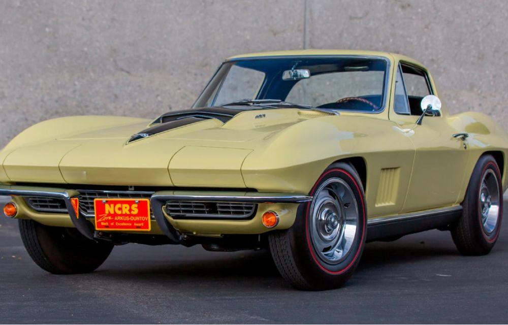 Un Chevrolet Corvette din 1967 a fost vândut cu 2.45 milioane de dolari la licitație - Poza 1