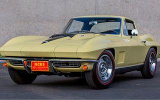 Un Chevrolet Corvette din 1967 a fost vândut cu 2.45 milioane de dolari la licitație