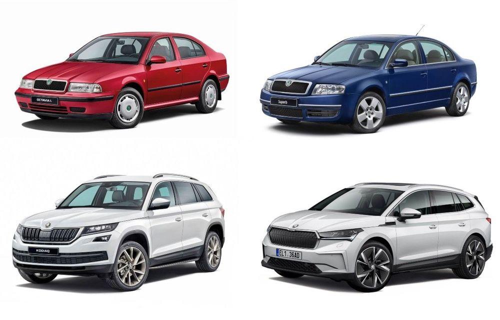 Skoda sărbătorește 30 de ani de la intrarea în grupul Volkswagen - Poza 1