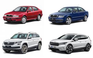 Skoda sărbătorește 30 de ani de la intrarea în grupul Volkswagen