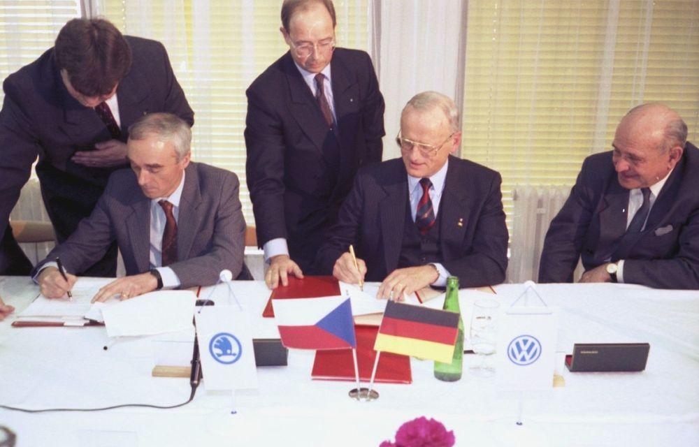 Skoda sărbătorește 30 de ani de la intrarea în grupul Volkswagen - Poza 2
