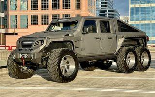 Apocalypse Hellfire este un Jeep cu șase roți care costă 200.000 de dolari