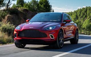 SUV-ul Aston Martin DBX este o gură de oxigen pentru englezi: vânzările au depășit așteptările