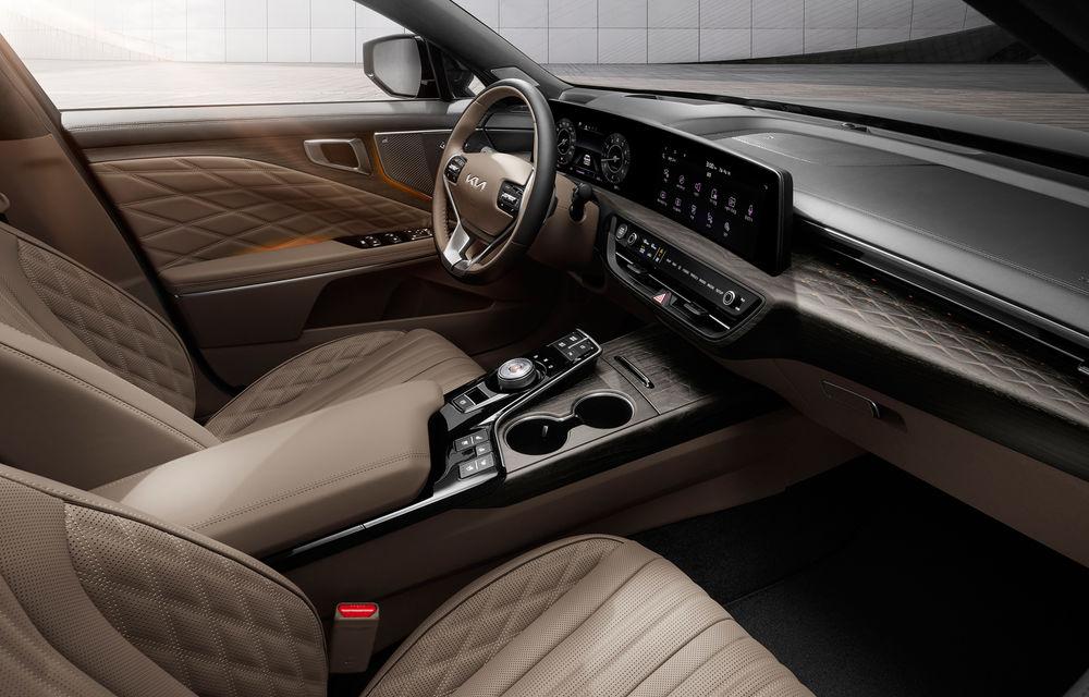 Kia a dezvăluit detaliile noului sedan premium K8 - Poza 5