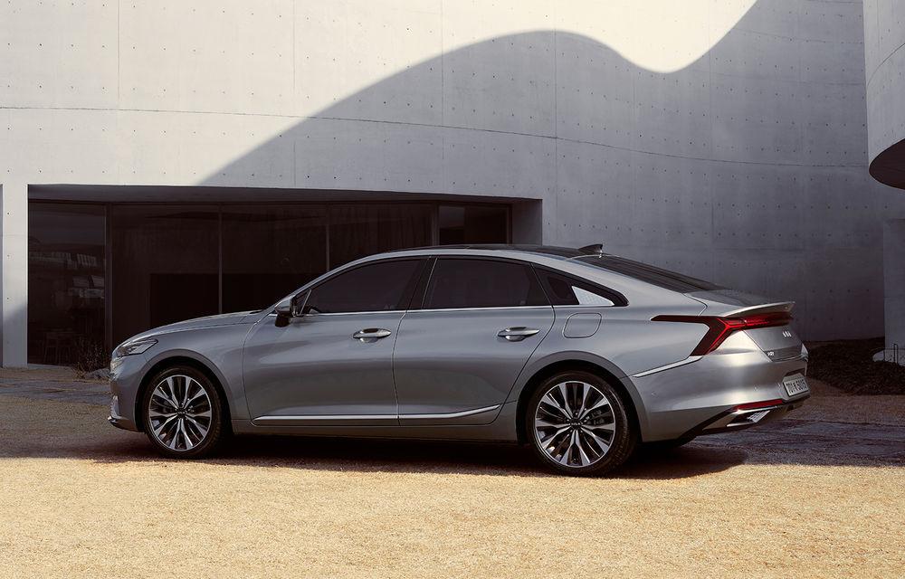 Kia a dezvăluit detaliile noului sedan premium K8 - Poza 4
