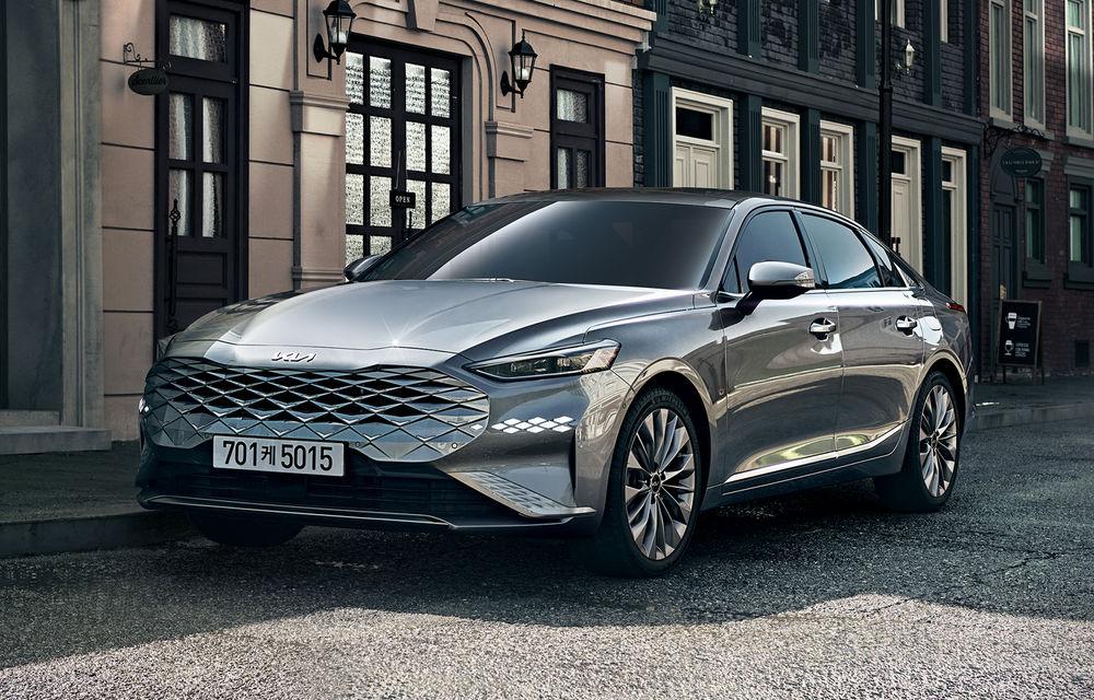 Kia a dezvăluit detaliile noului sedan premium K8 - Poza 1