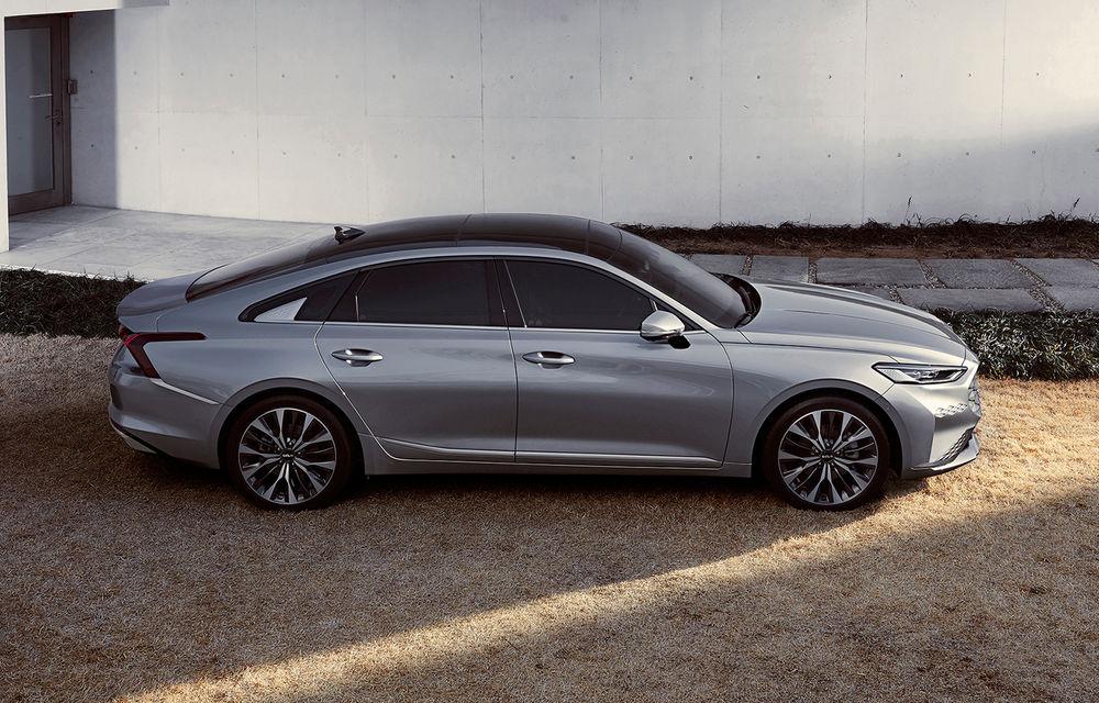Kia a dezvăluit detaliile noului sedan premium K8 - Poza 2