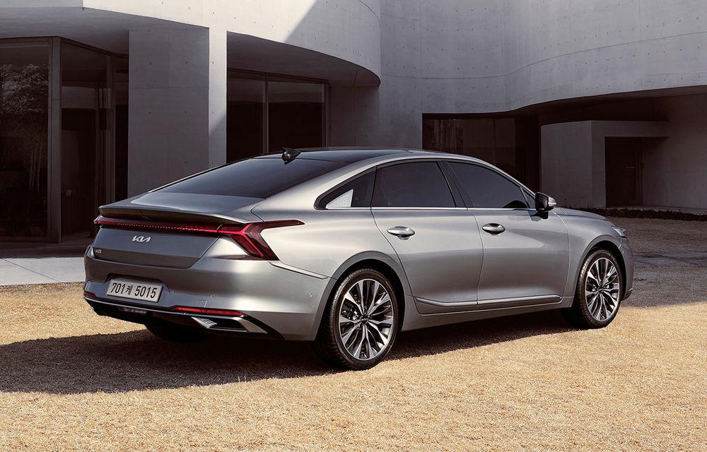 Kia a dezvăluit detaliile noului sedan premium K8 - Poza 3