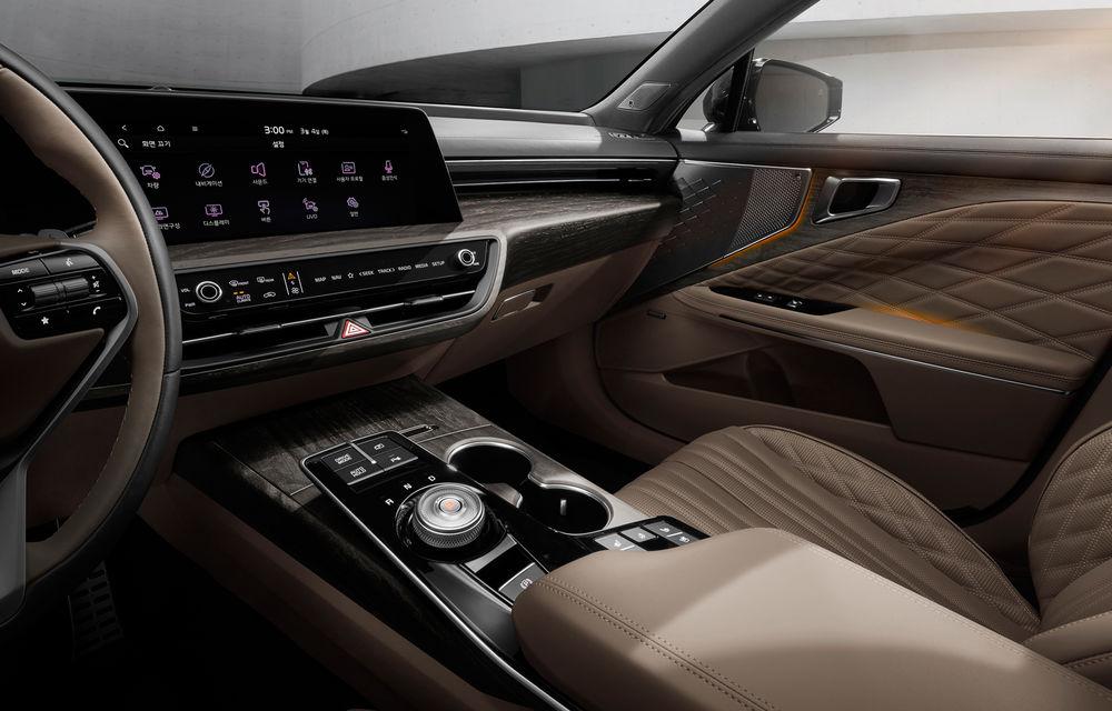 Kia a dezvăluit detaliile noului sedan premium K8 - Poza 6