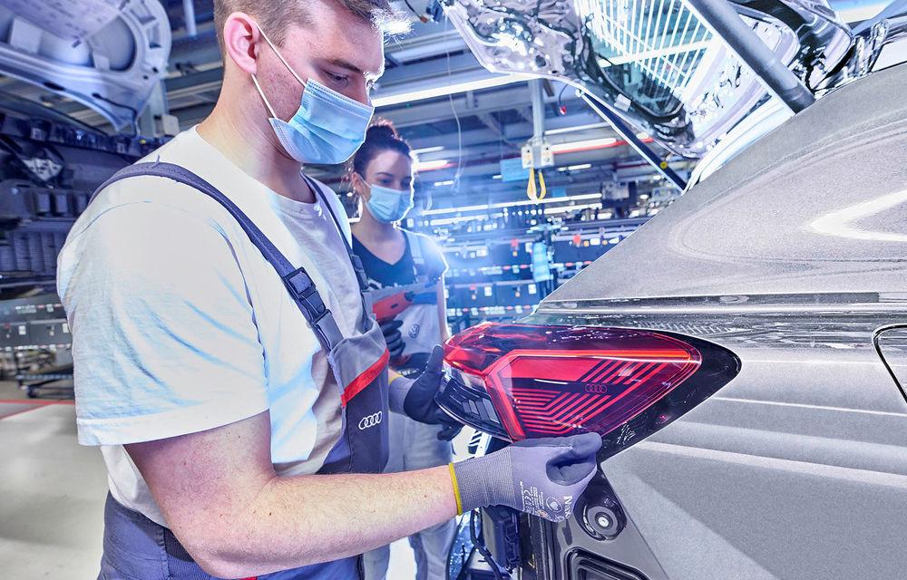 Audi a început producția SUV-ului electric Q4 e-Tron - Poza 2
