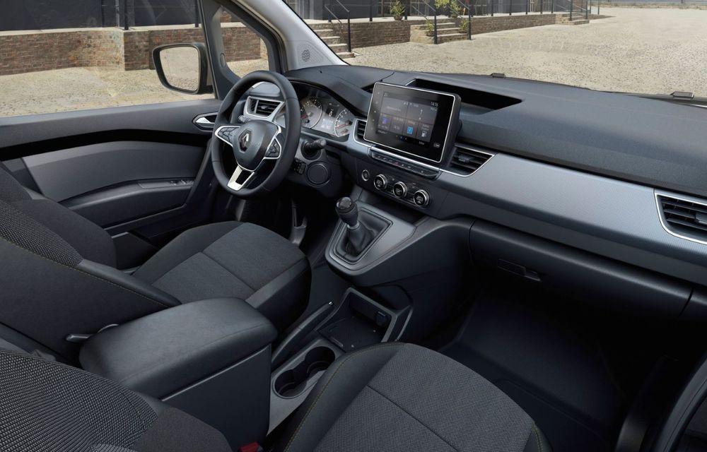 Renault lansează noul Kangoo Van: acces lateral inovator și versiune electrică cu autonomie de 265 km - Poza 6