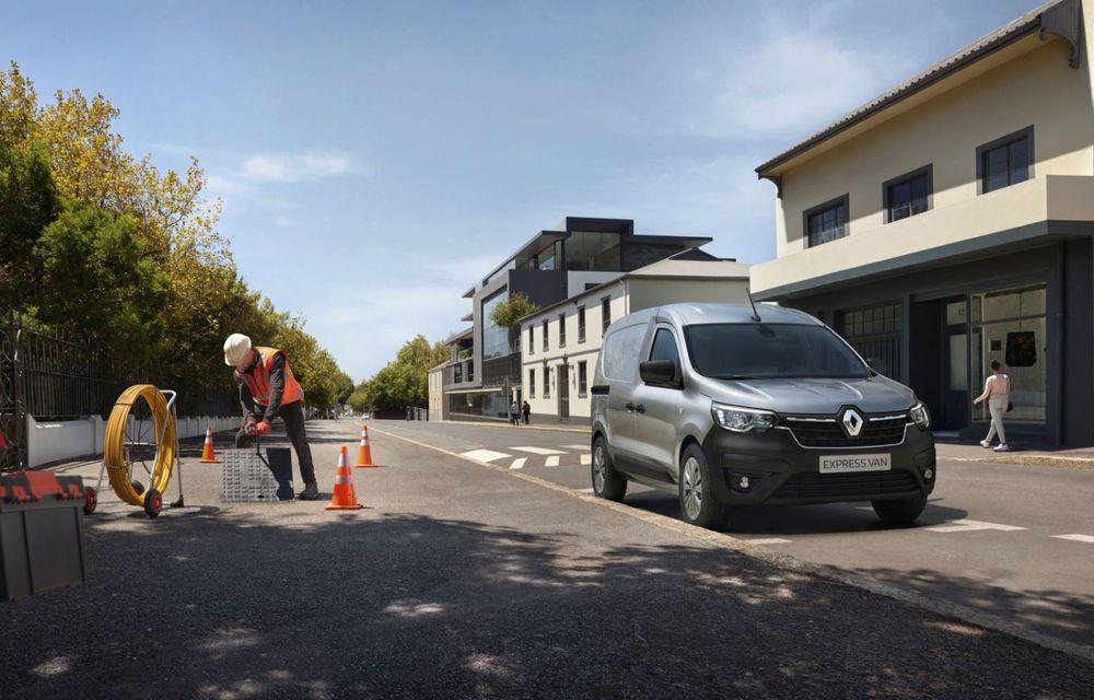 Renault lansează noul Kangoo Van: acces lateral inovator și versiune electrică cu autonomie de 265 km - Poza 3
