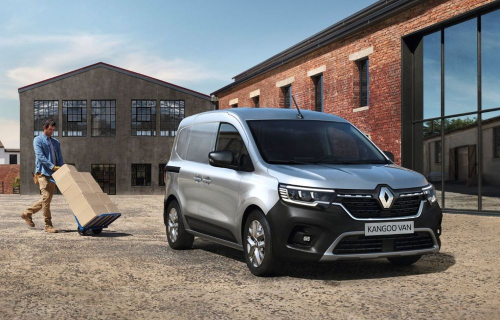 Renault lansează noul Kangoo Van: acces lateral inovator și versiune electrică cu autonomie de 265 km - Poza 2