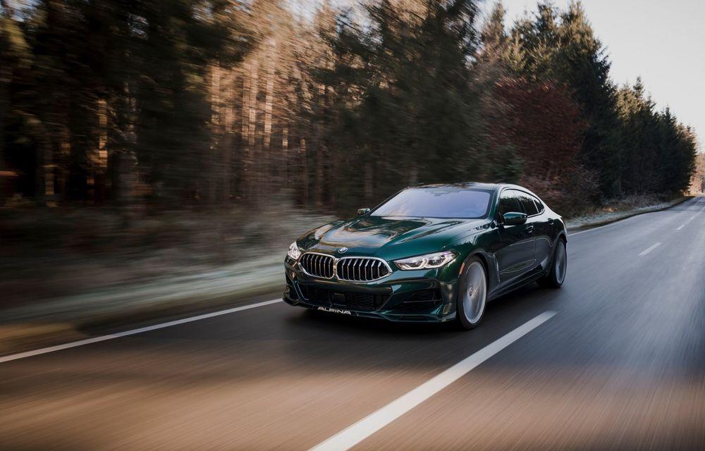 Alpina prezintă noul B8 Gran Coupe: motorul V8 dezvoltă 620 de cai putere - Poza 3