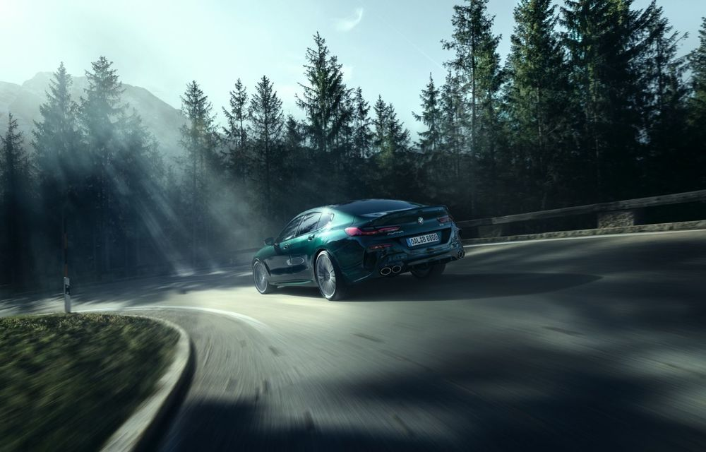 Alpina prezintă noul B8 Gran Coupe: motorul V8 dezvoltă 620 de cai putere - Poza 20