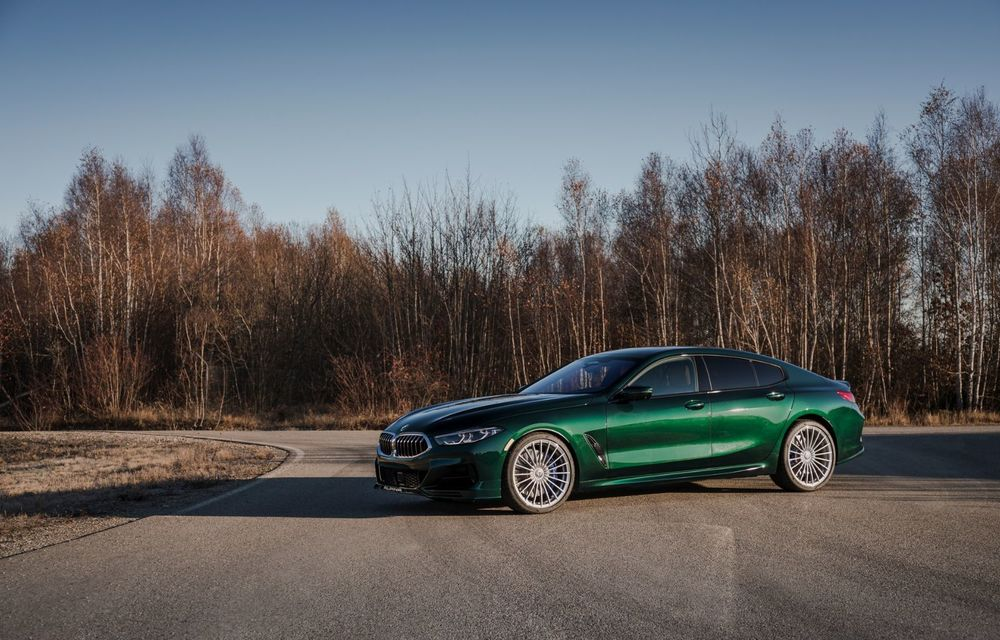 Alpina prezintă noul B8 Gran Coupe: motorul V8 dezvoltă 620 de cai putere - Poza 11