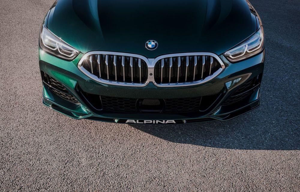 Alpina prezintă noul B8 Gran Coupe: motorul V8 dezvoltă 620 de cai putere - Poza 13
