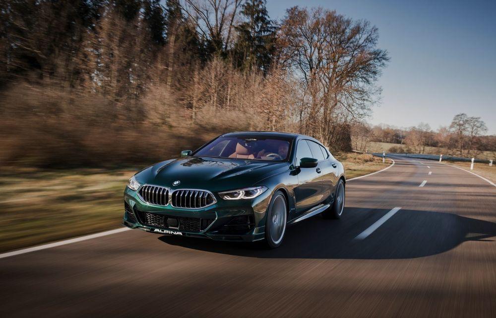 Alpina prezintă noul B8 Gran Coupe: motorul V8 dezvoltă 620 de cai putere - Poza 6