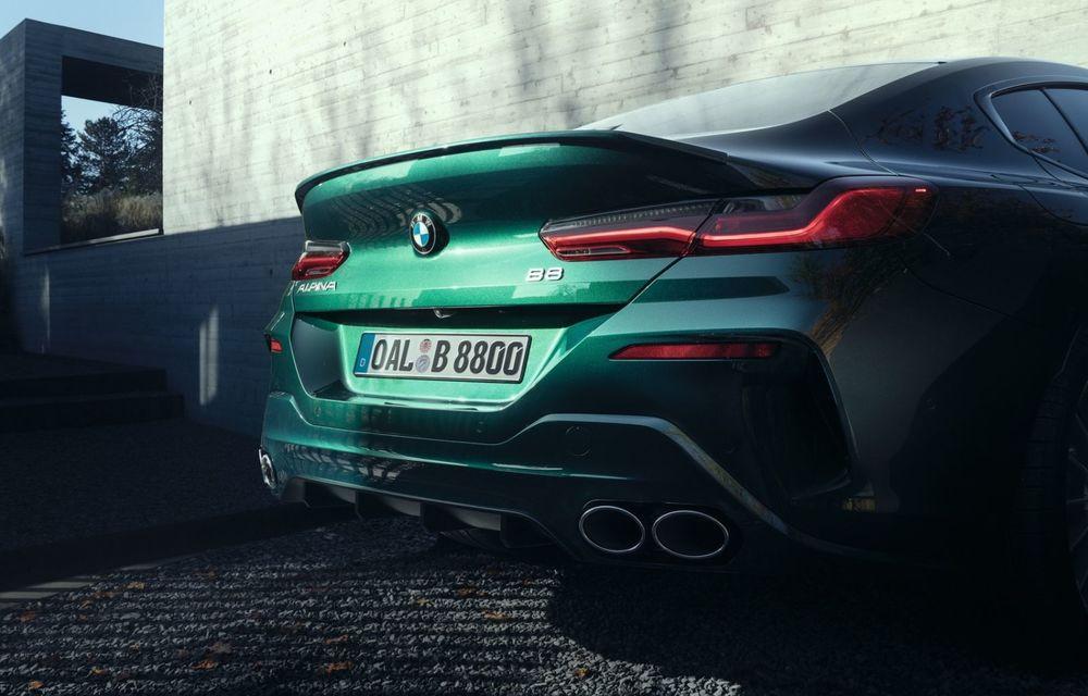 Alpina prezintă noul B8 Gran Coupe: motorul V8 dezvoltă 620 de cai putere - Poza 23