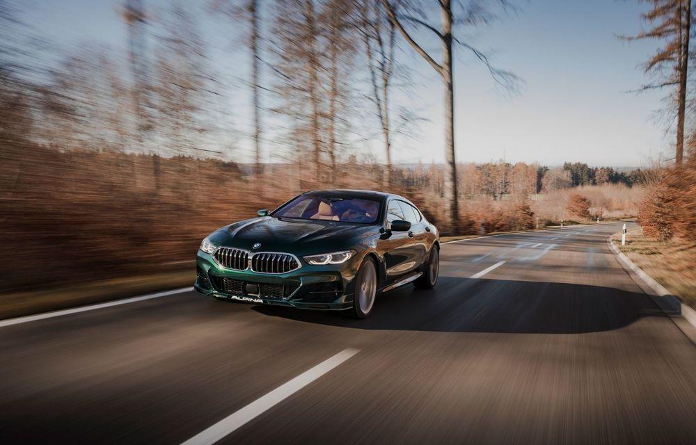 Alpina prezintă noul B8 Gran Coupe: motorul V8 dezvoltă 620 de cai putere - Poza 8