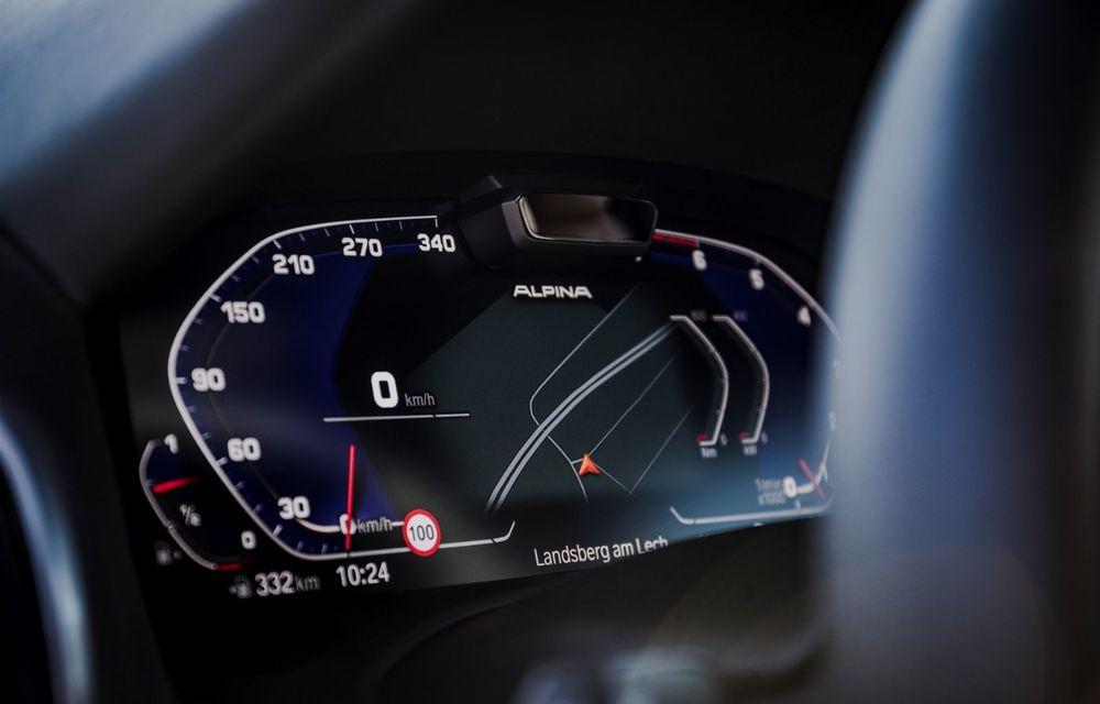 Alpina prezintă noul B8 Gran Coupe: motorul V8 dezvoltă 620 de cai putere - Poza 25