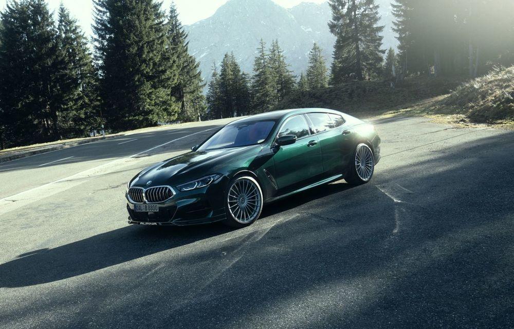 Alpina prezintă noul B8 Gran Coupe: motorul V8 dezvoltă 620 de cai putere - Poza 1