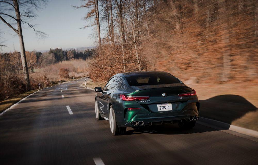 Alpina prezintă noul B8 Gran Coupe: motorul V8 dezvoltă 620 de cai putere - Poza 19