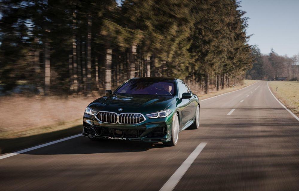 Alpina prezintă noul B8 Gran Coupe: motorul V8 dezvoltă 620 de cai putere - Poza 4