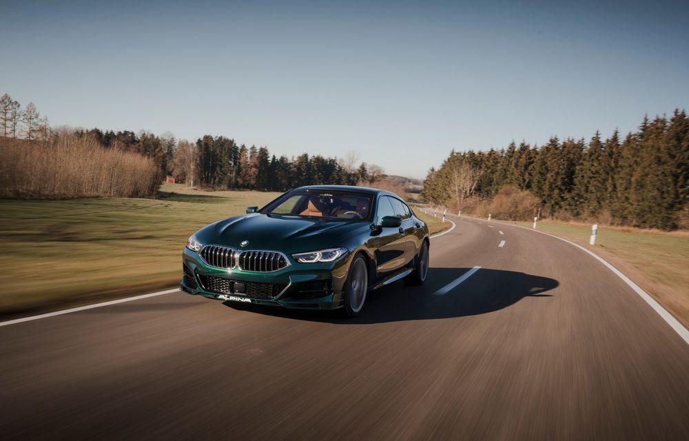 Alpina prezintă noul B8 Gran Coupe: motorul V8 dezvoltă 620 de cai putere - Poza 7