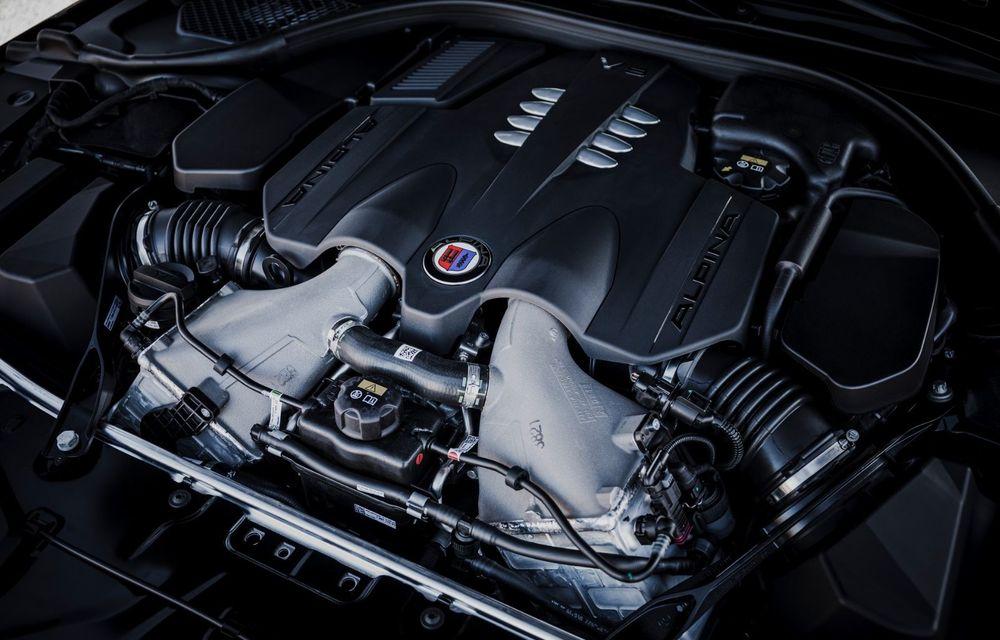 Alpina prezintă noul B8 Gran Coupe: motorul V8 dezvoltă 620 de cai putere - Poza 34