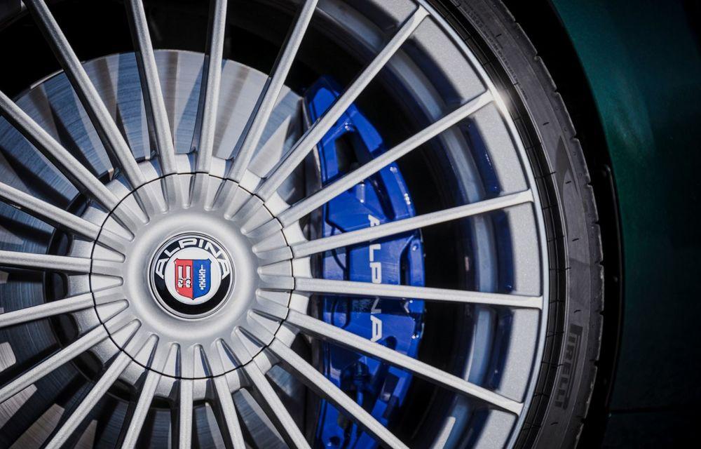 Alpina prezintă noul B8 Gran Coupe: motorul V8 dezvoltă 620 de cai putere - Poza 32