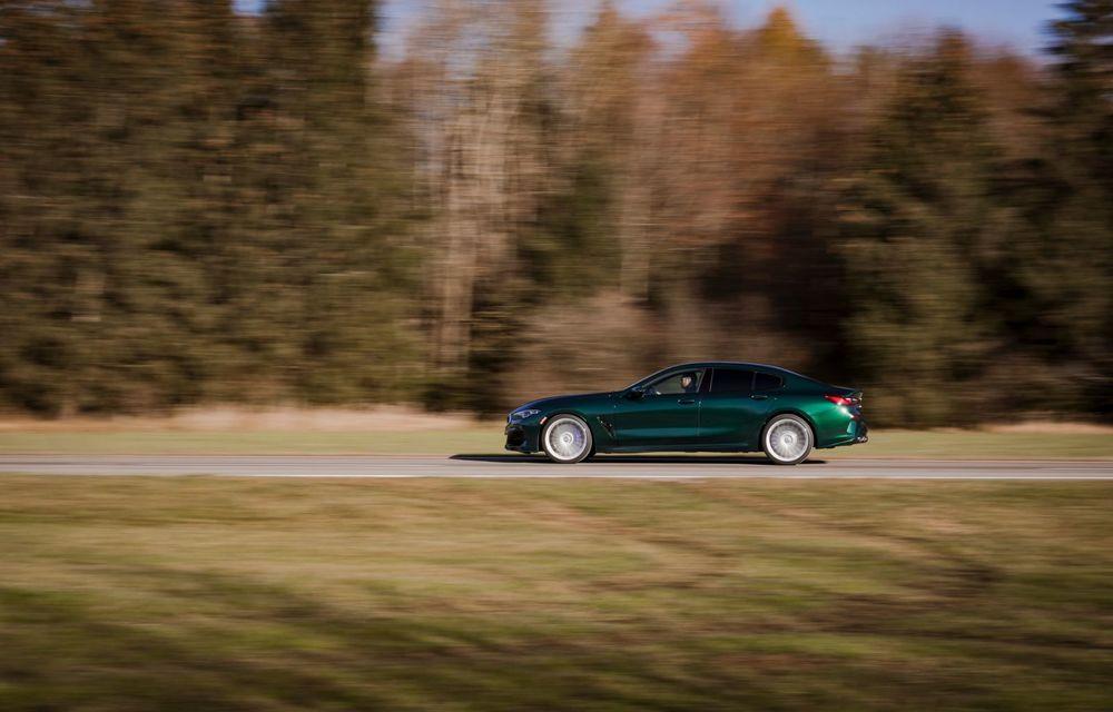 Alpina prezintă noul B8 Gran Coupe: motorul V8 dezvoltă 620 de cai putere - Poza 24