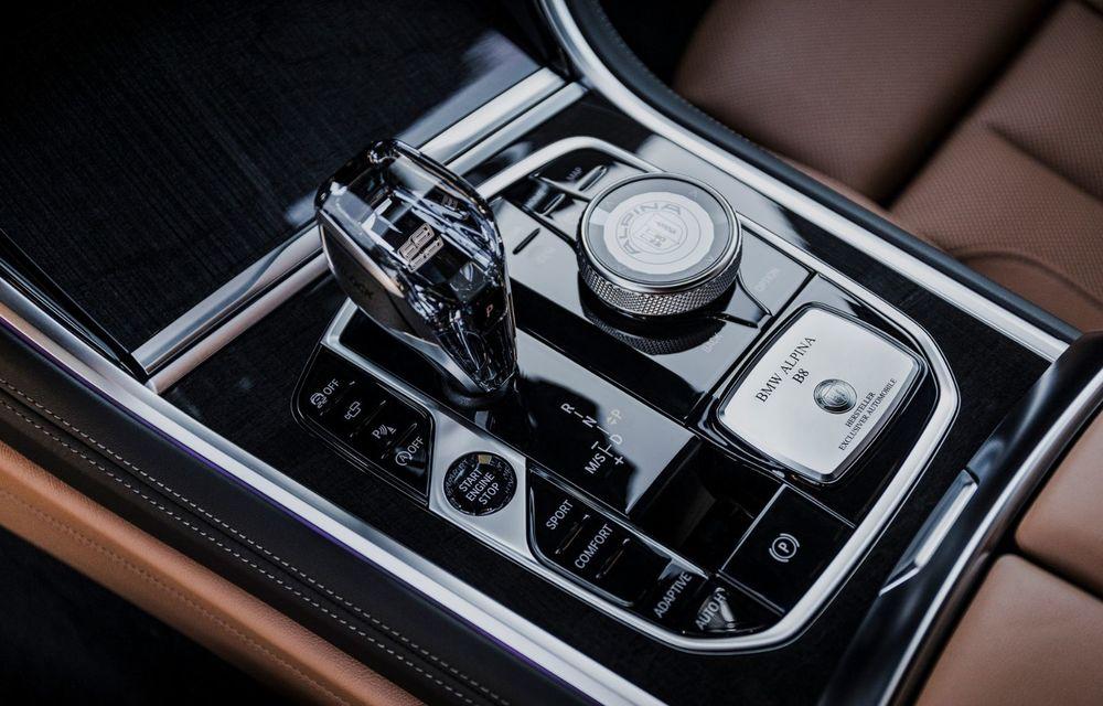 Alpina prezintă noul B8 Gran Coupe: motorul V8 dezvoltă 620 de cai putere - Poza 26
