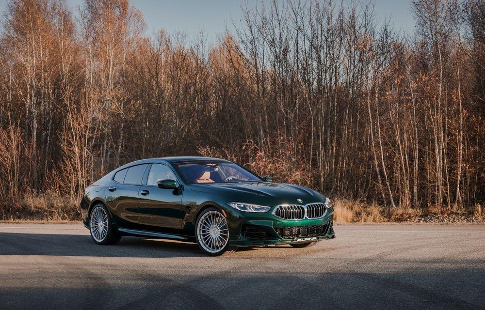 Alpina prezintă noul B8 Gran Coupe: motorul V8 dezvoltă 620 de cai putere - Poza 10